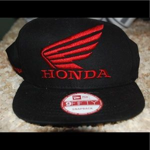New Era Other - Black and red Honda baseball cap